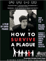 "Movie poster of Brenda J. Marston's ""How to Survive a Plague"""